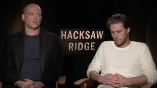 Hacksaw Ridge: Vince Vaughn & Luke Bracey Official Movie Interview