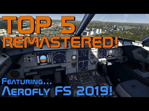 Top 5 Most Realistic Flight Simulators For IOS And Android 2019 REMASTERED!