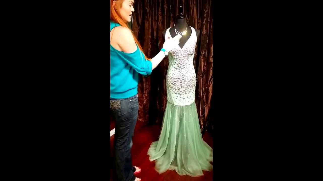 Glass Slipper Formals Prom Pageant Dress Review Jovani JVN Gowns ...
