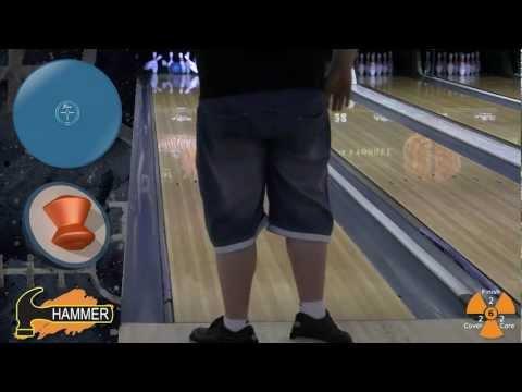 Hammer Urethane Blue Hammer Remake bowling ball by Joe Stillman, BuddiesProShop.com