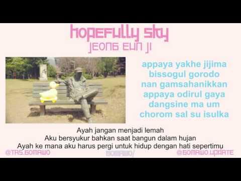 JEONG EUN JI - HOPEFULLY SKY [MV, EASY LYRIC, LIRIK INDONESIA]