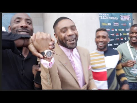 SPENCER FEARON & JERMAIN DEFOE BREAKDOWN JOSHUA v BREAZEALE - DEMONSTRATION & CAMEO NELSON STYLE
