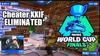 Fortnite Cheater XXIF Defeated as Crowd Cheer - Fortnite World Cup Duos