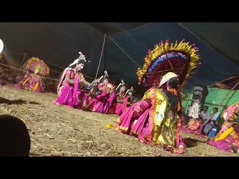 chau dance of purulia, west bengal...