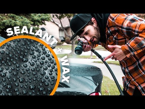Best Wax + Sealant Combo | My Car HATES Water Now!
