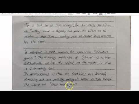 Live Marking of Question 2 Paper 2 Cambridge IGCSE 0522 and 0500 (Thanks Sam)