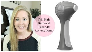 Tria Hair Removal Laser 4x Review & Demo