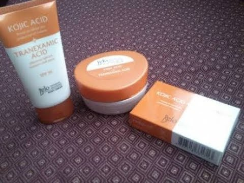 Belo kojic soap and cream review