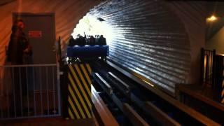 Superman Escape from Krypton Roller Coaster Offride POV Six Flags Magic Mountain