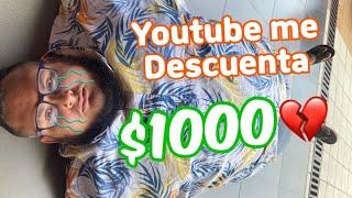 Impuestos de YouTube, creadores de contenido sienten el talegazo.