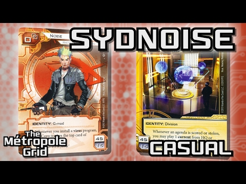 Android: Netrunner // Sydney Noise vs. New Angeles Sol - Casual
