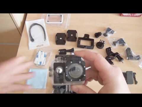 Une caméra 1080p étanche, de très bonne qualité fourni avec un pack d'accessoires très complet