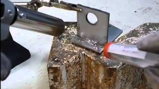 100均の電気用ハンダで、ロウ付けを試してみました。 thumbnail