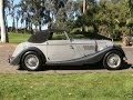 Our old Morgan Drophead Coupe