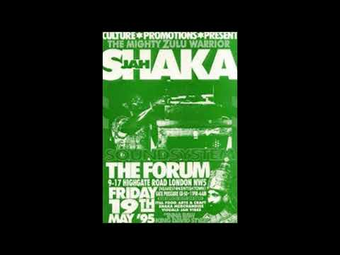 Jah Shaka # 1995 Kentish Town Forum, London NW5 # 19th May 1995