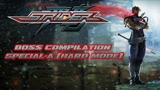 Strider (2014) Boss Compilation