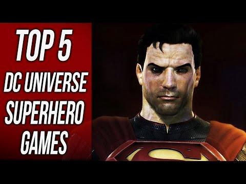 Top 5 Best DC Superhero Games - 동영상