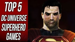 Top 5 Best DC Superhero Games