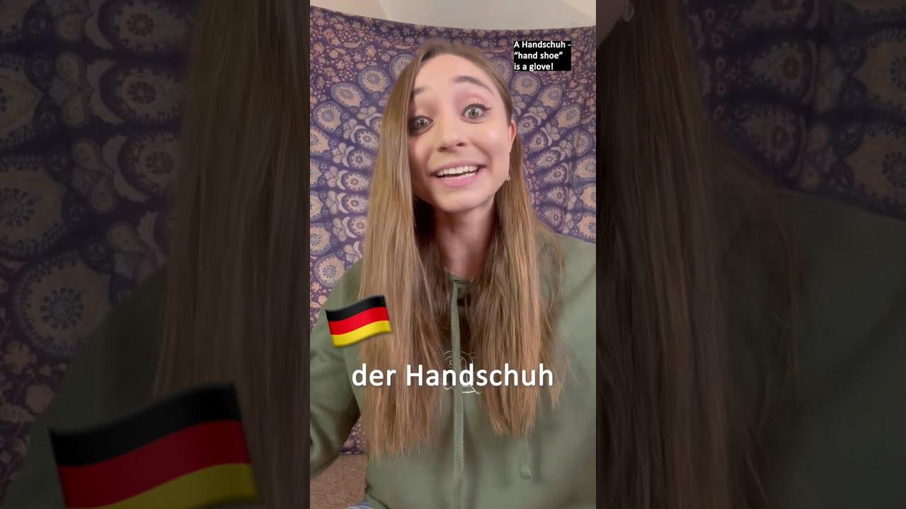 Amazing descriptive German words 🇩🇪 #shorts
