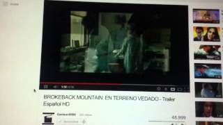 Brokeback Mountain: En Terreno Vedado. Trailer En Español HD 1080P