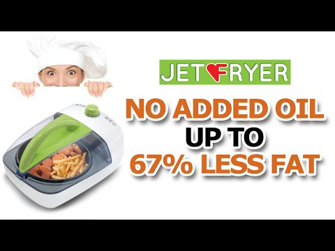 JetFryer. The innovative Air Fryer for cooking healthy meals!