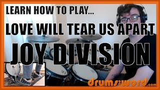 ★ Love Will Tear Us Apart (Joy Division) ★ Drum Lesson PREVIEW | How To Play Song (Stephen Morris)