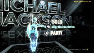 Intro & Practice Mode Gameplay - Michael Jackson The Experience - Xbox360 Kinect with MMC