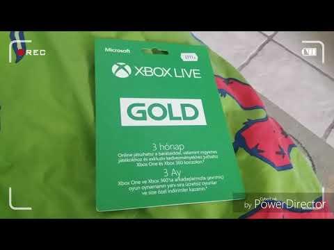 #Xbox Live Gold Aktiválás#