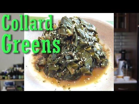 Easy Vegan Recipe: Smokey Collard Greens   Jason Wrobel