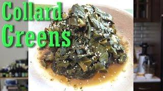 Easy Vegan Recipe: Smokey Collard Greens | Jason Wrobel