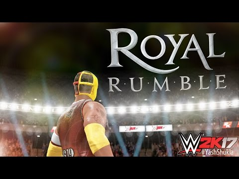 WWE 2K17 30 MAN ROYAL RUMBLE And REY MYSTERIO Is BACK with OMG Moves