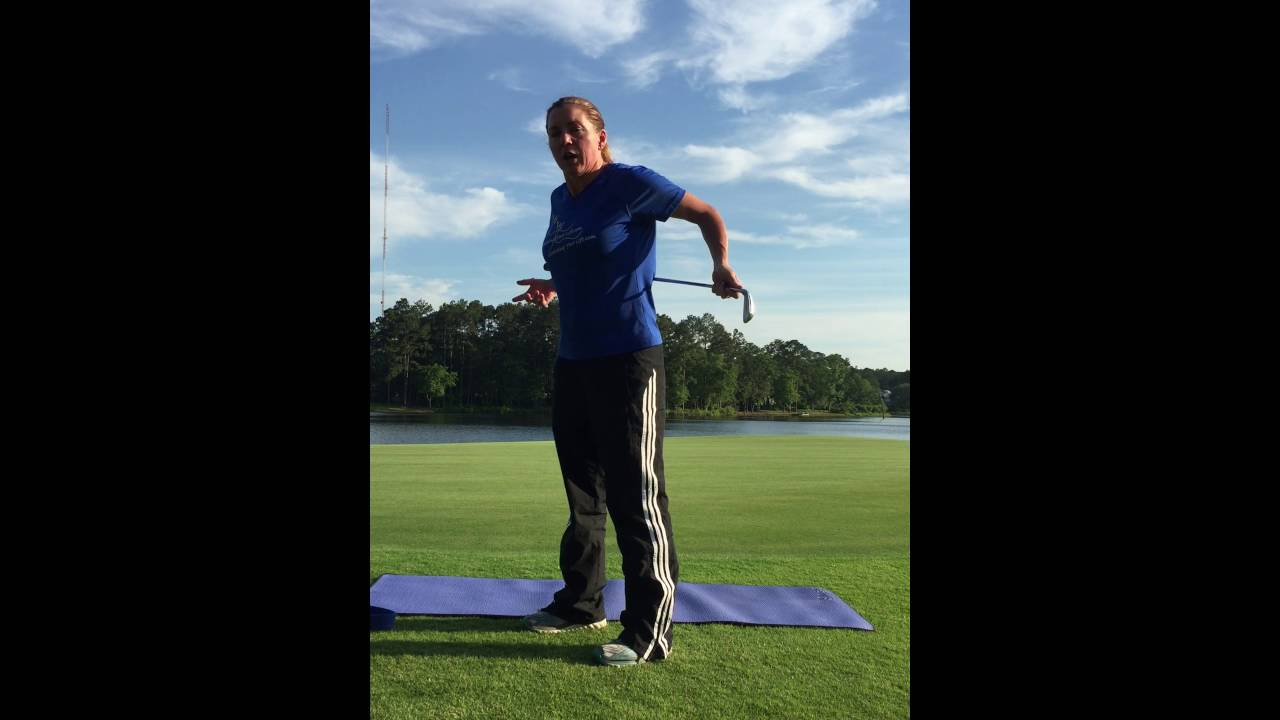 Golf Stretching Exercise Series   Lesson 5   Back Extension