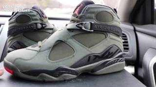 Jordan 8 Take Flight Mall Vlog/ Shoe Review and On Foot/ Cop or No Cop????