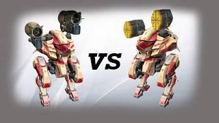 kumiho (taran) vs kumiho (orkan) Test   War Robots