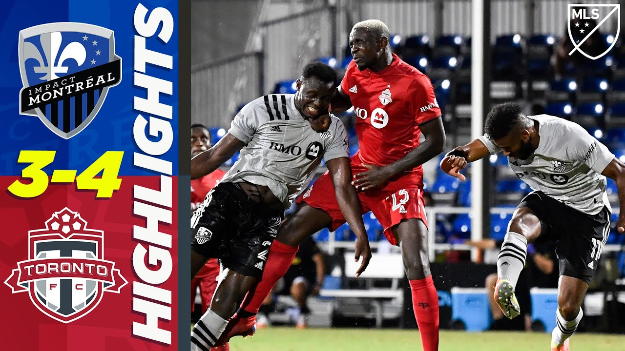 Montreal Impact 3-4 Toronto FC | Instantly Iconic Canadian Classique Matchup! | MLS HIGHLIGHTS