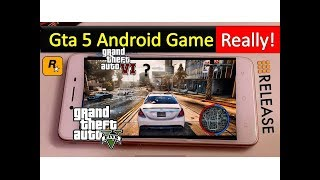 Grand Theft Auto V Android Game Really ! 2018 GTA IV Good News