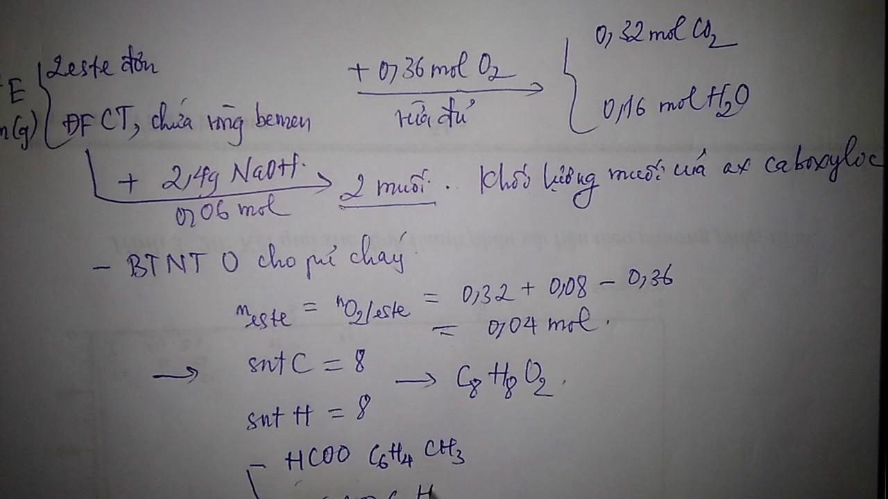 Chữa câu 38 & 39 Môn Hóa Học Đề Thử Nghiệm BGD ĐT