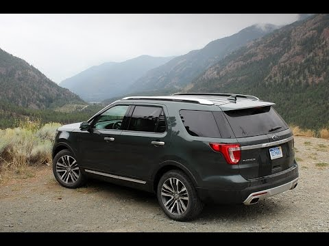 Driving BC's Highway 99 in a 2016 Ford Explorer Platinum