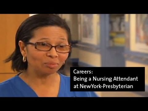 Being a Nursing Attendant at NewYork-Presbyterian
