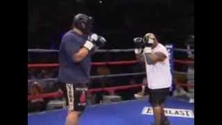 Mike tyson back in sparring 2013 Action