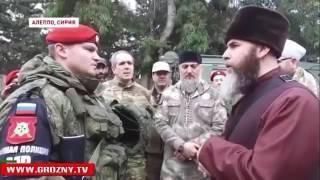 Русский военный в Сирии принял Ислам