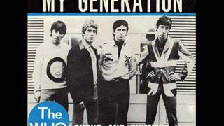 THE WHO - MY GENERATION - SHOUT AND SHIMMY
