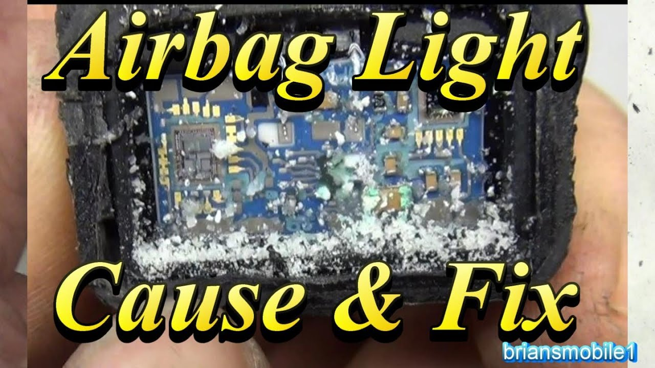 airbag light cause fix b0104 youtube. Black Bedroom Furniture Sets. Home Design Ideas
