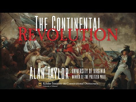 Alan Taylor Lecture  The Continental Response