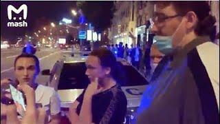 Свидетели Шкребецкие: М. Ефремова увидели В МАШИНЕ, ОН БЫЛ НЕ ОДИН! С места ДТП и в студии Малахова