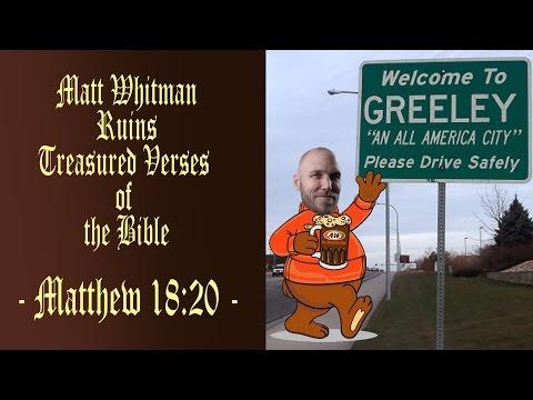 Matt Whitman Ruins Treasured Verses of the...