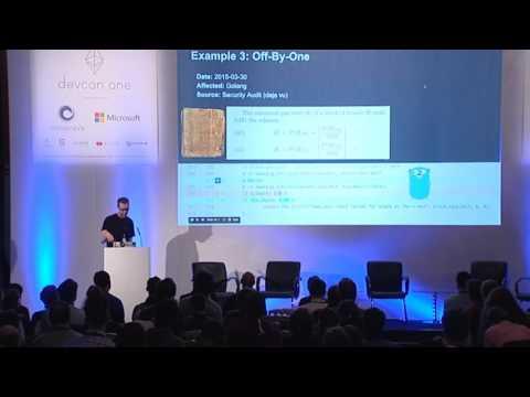 DEVCON1: Securing Ethereum - Jutta Steiner, Gustav Simonsson