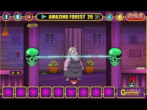 Halloween Party House Escape 07 Walkthrough Games4escape