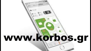 Prizrak Tec 810 GSM Συναγερμος Can-Bus για Bmw X3 www.korbos.gr