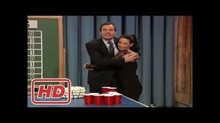 Talk shows]beer pong with lucy liu and ...
